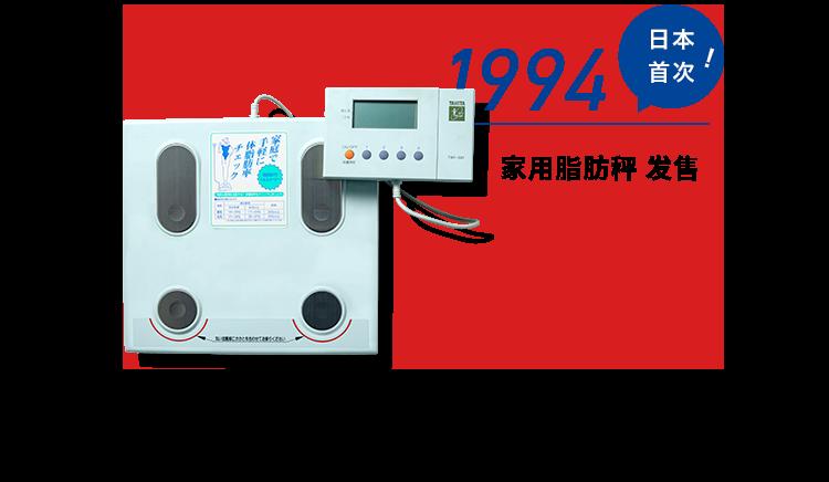 1994 家用脂肪秤发售